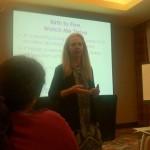 Dr. Dina Lieser, shocks child providers by presenting New York ranks 49th in developmental screening.