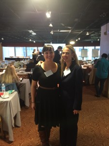 Dina and melissa at just in time building brigh futures