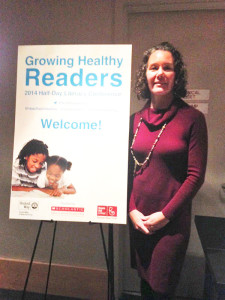 Dr. Isakson at Growing Healthy Readers Conference